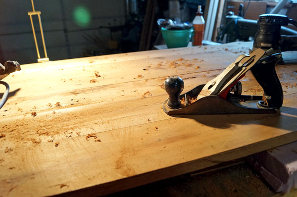 building a reclaimed wood table top | Quick Woodworking ...