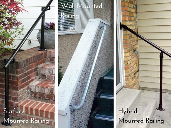 Surface VS Wall Mounted VS Hybrid Railing