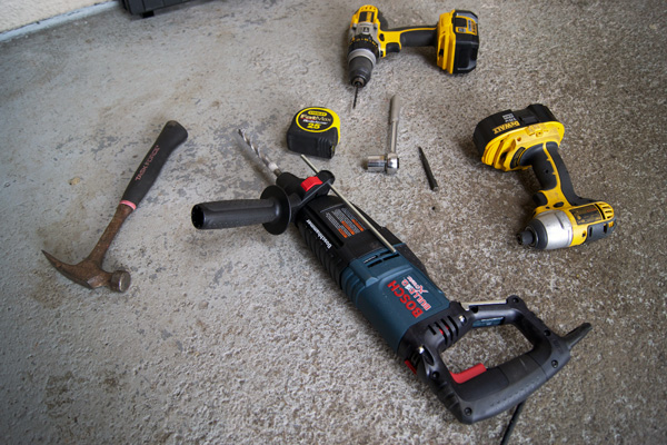 Tools for Railing Install