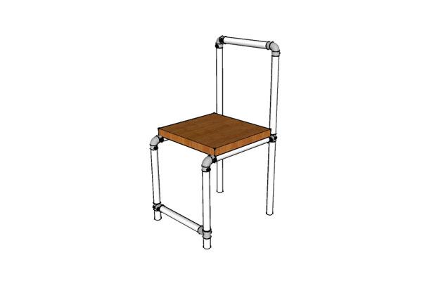 Vintage Industrial Chair Plans