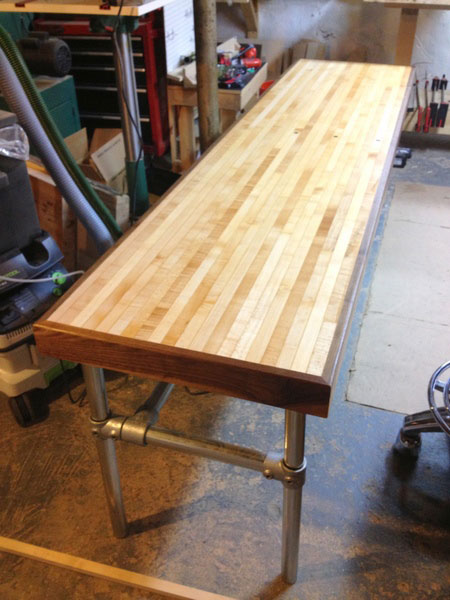 Good Reclaimed Bowling Lane Desk