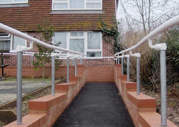 ADA Handrail for Walkway
