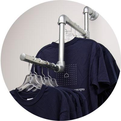 Fertige Kleiderständer Kits