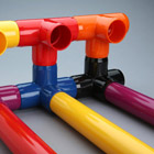 Color PVC Fittings and Pipe