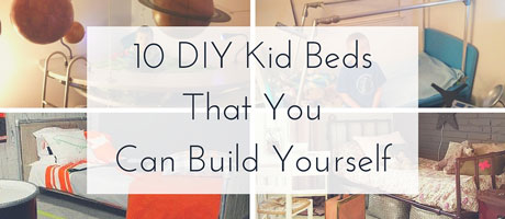 10 Unique Kid Beds That You Can Build Yourself Image