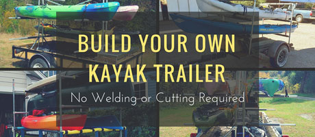 Build Your Own Kayak Trailer: No Welding or Cutting Required Image