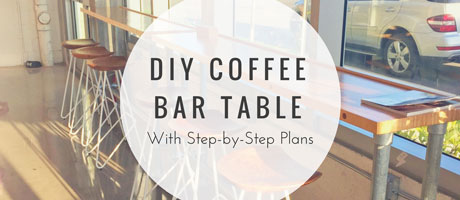 DIY Coffee Bar Table (With Step-by-Step Plans) Image