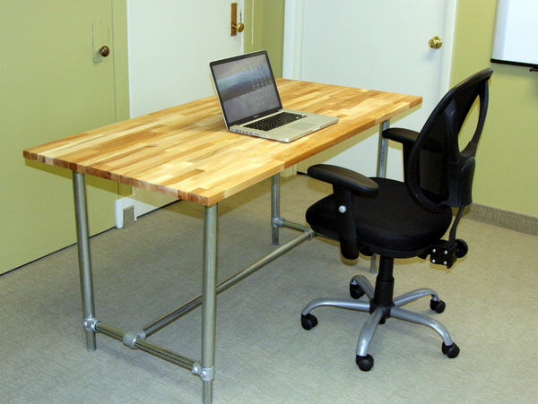 Adjustable Height Desk - Sitting