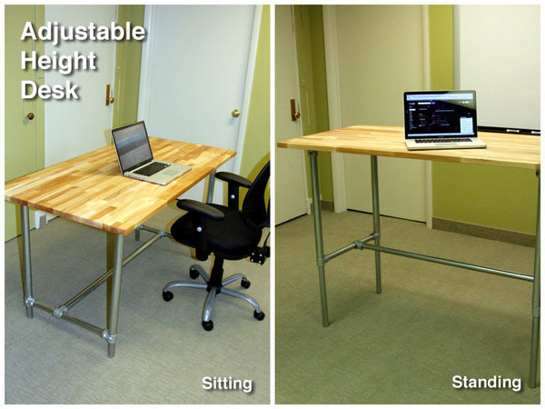 standing is desk best spine south rehab varidesk joint which riser vs sitting ga