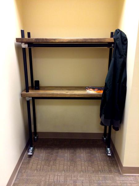 Butcher Block Shelf