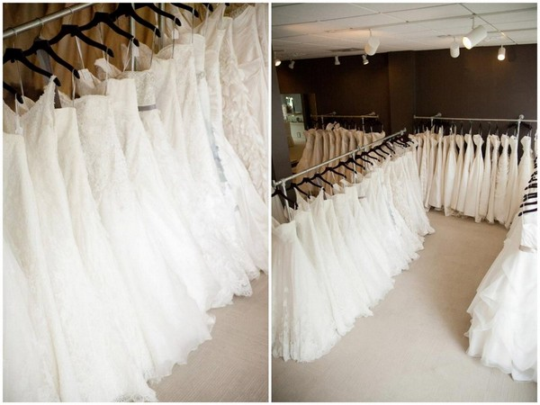 Elegant Bridal Dress Racks