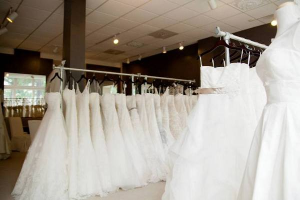 Bridal Dress Racks