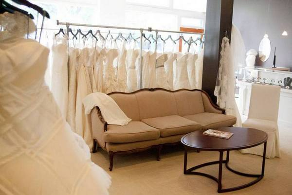 Modern Bridal Dress Racks