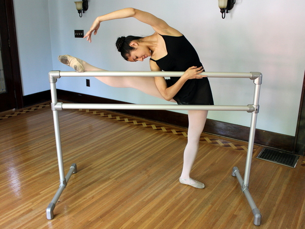 Diy Freestanding Ballet Barre For Any Age Height And Skill Level