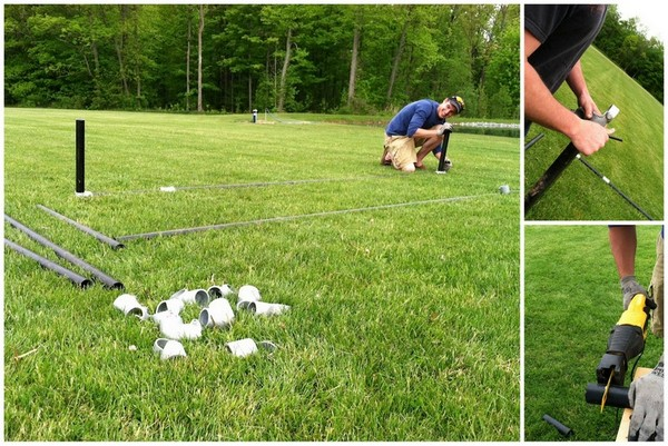 Building a Portable Soccer Goal