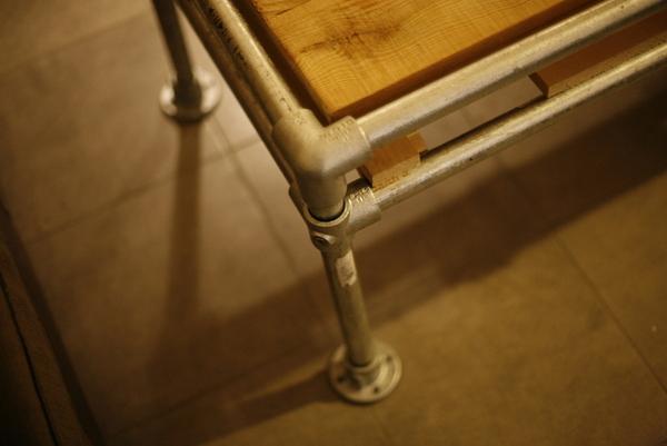 Pipe Coffee Table - Leg