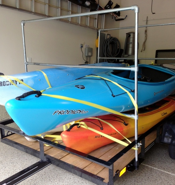 Kayak Trailer Rack