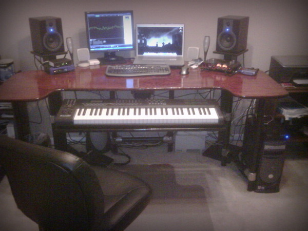 Ultimate Recording Desk - Front View