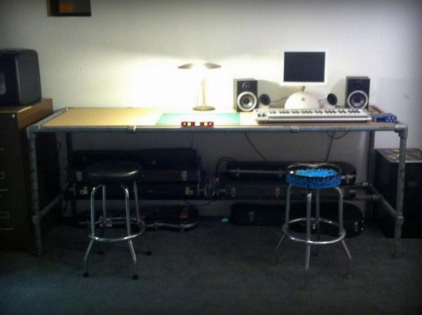 Keyboard Composition Desk