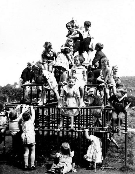 Custom Playground Structure - Old School