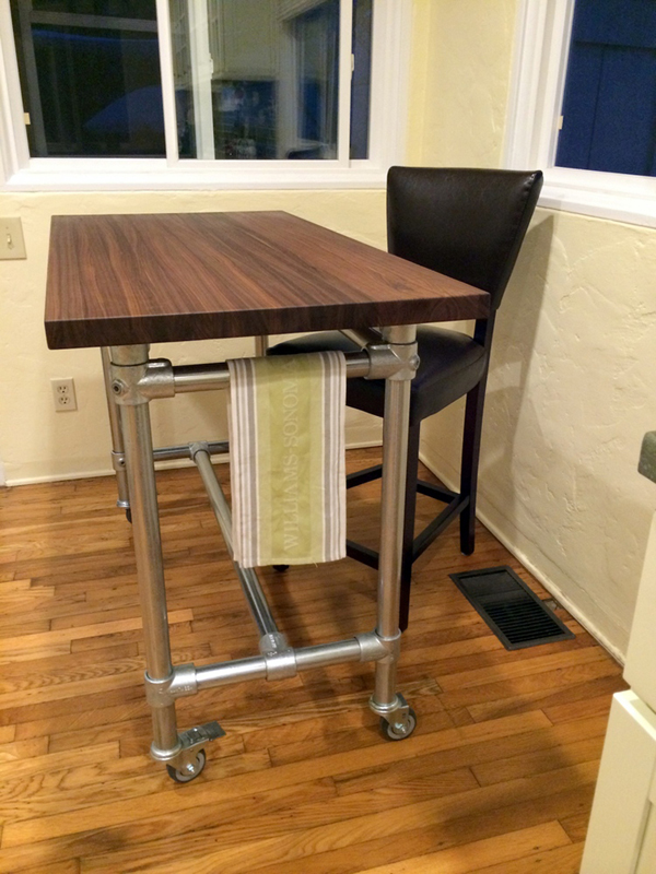 Superieur Kitchen Rolling Table