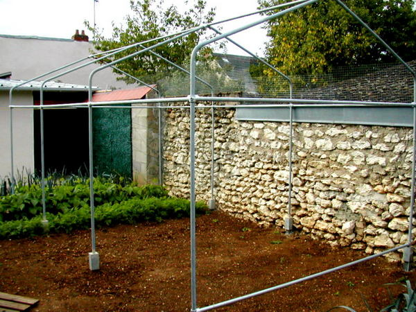 Make a Garden Greenhouse