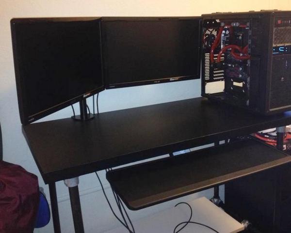 Gamer Standing Desk
