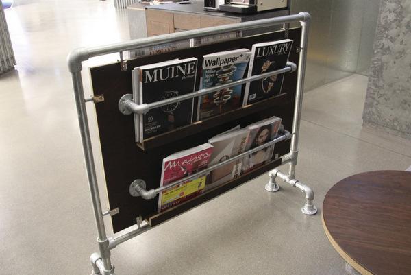 Tube Magazine Rack