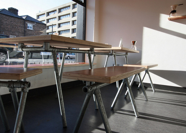 Pipe table pipe benches