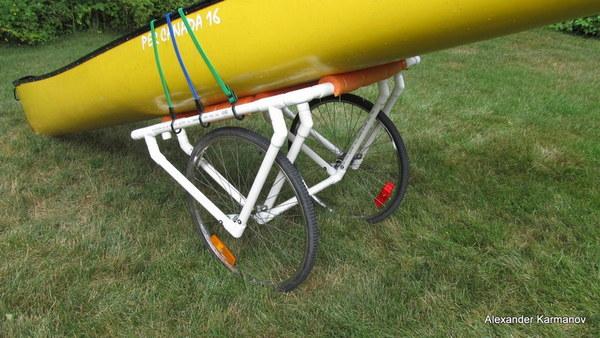 DIY PVC Canoe Dolly - Secure Hub
