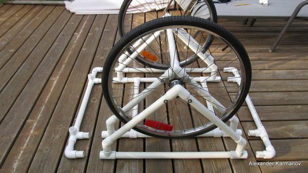 DIY PVC Canoe Dolly - Construction