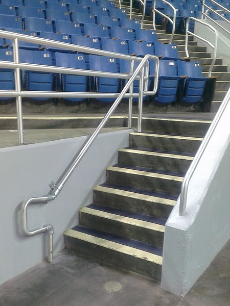 Repaired Handrail - Finished