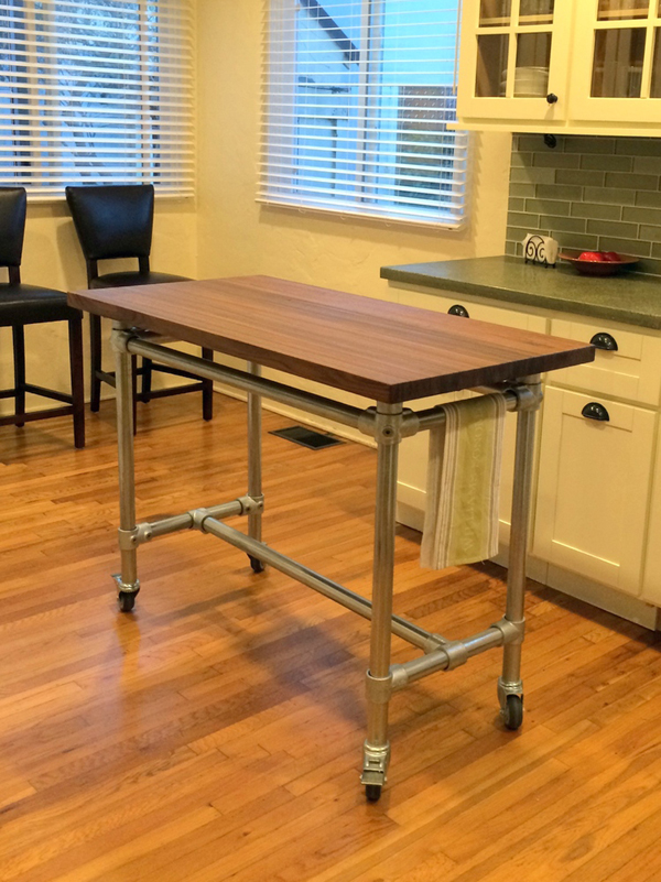 Removable Kitchen Island