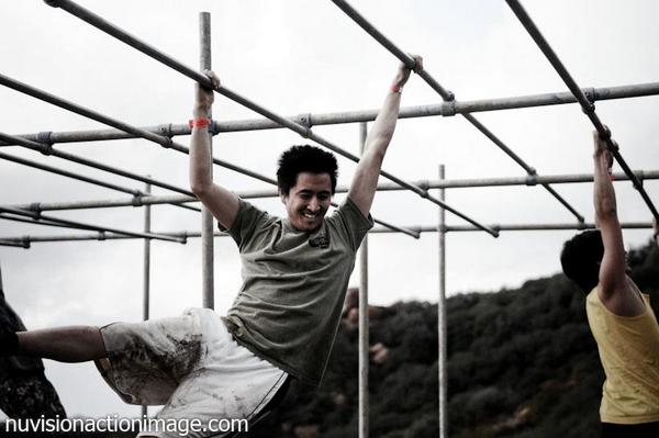 Custom Playground Structure - Spartan Monkey Bars
