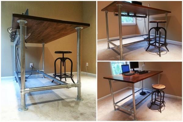 diy standing desk simplified building rh simplifiedbuilding com make your own standing desk with plywood make your own electric standing desk