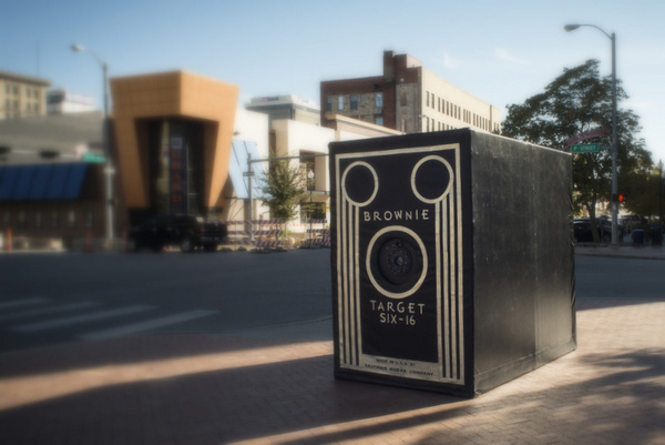 Traveling Camera Obscura Exhibit