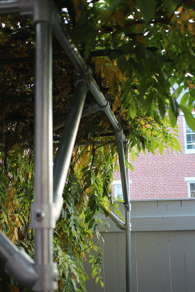 How To Build A Wisteria Support Trellis And Pergola Great Idea