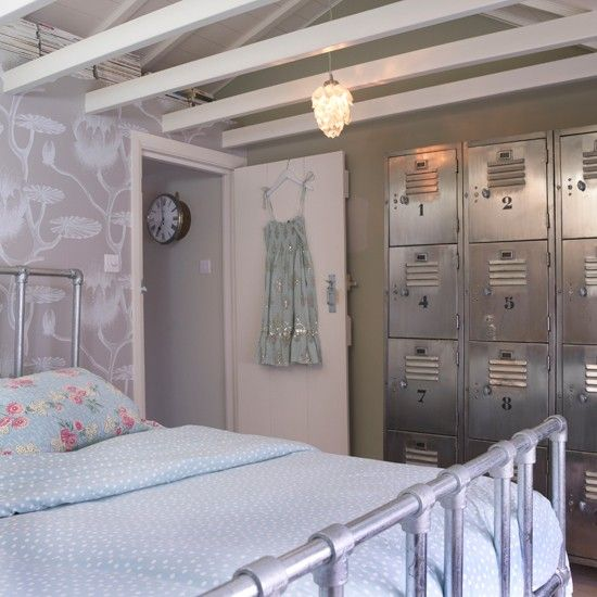 Gray Industrial Chic Bedroom