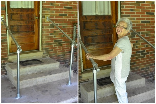 Metal Stair Railing for Accessibility