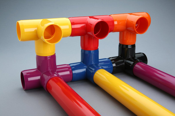 color furniture grade pvc fittings now available On colored furniture grade pvc