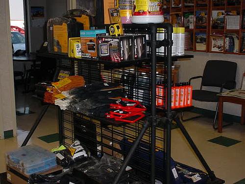 Custom Floor Industrial Retail Rack
