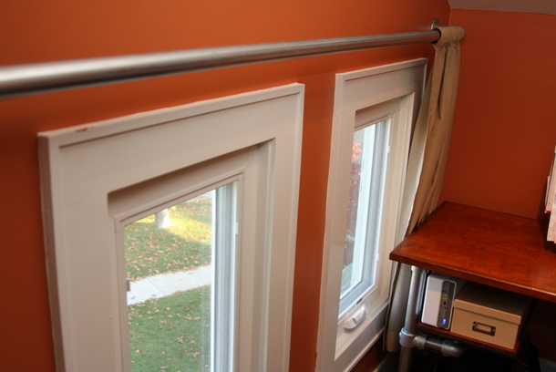 Elbow Pipe Curtain Rods