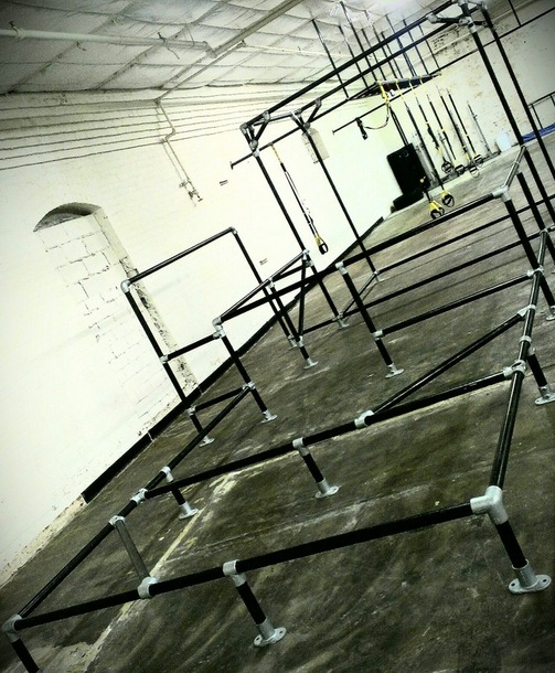 Indoor Parkour Obstacle at Urban Movement