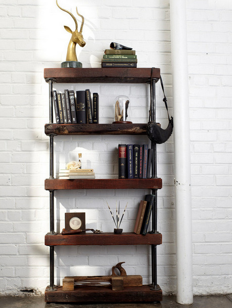 Rustic Industrial Shelf