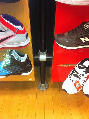 Kee Klamp Shoe Wall