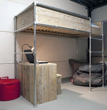 15 Beds Made From Pipe To Give Your Apartment Industrial Chic