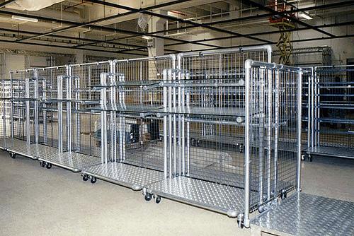 New Industrial Kee Klamp Retail Rack
