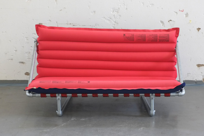 Rimini Pipe Couch - Front View