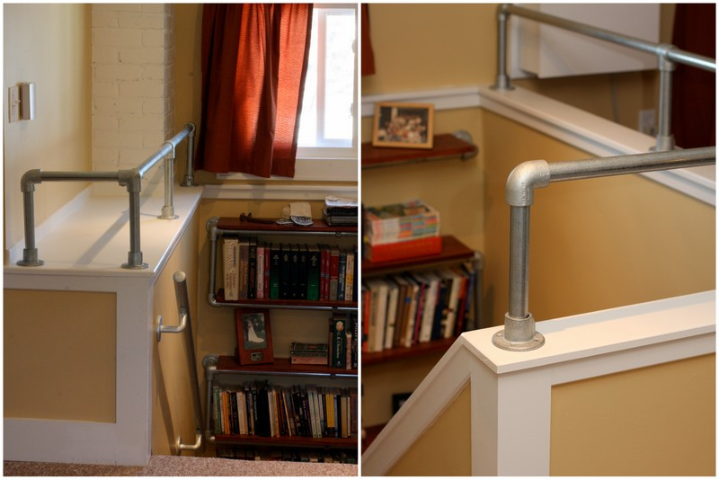 Stairwell Pipe Railing
