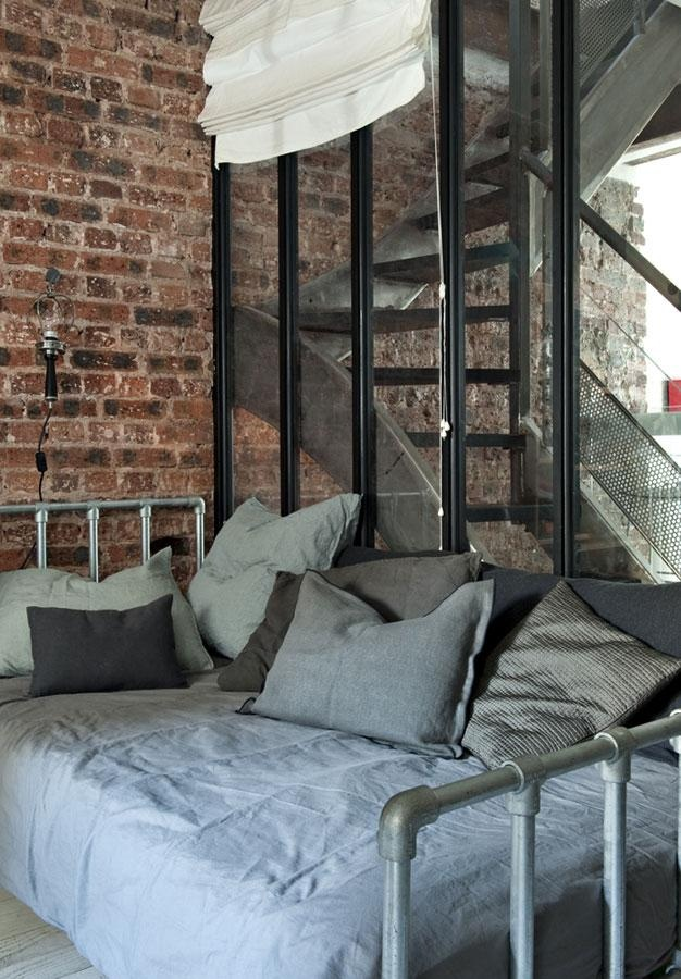 15 beds made from pipe to give your apartment industrial - Decoration interieur style atelier ...